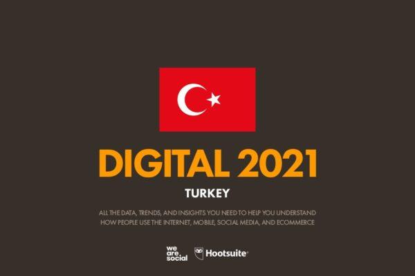 We Are Social 2021 Türkiye Raporu